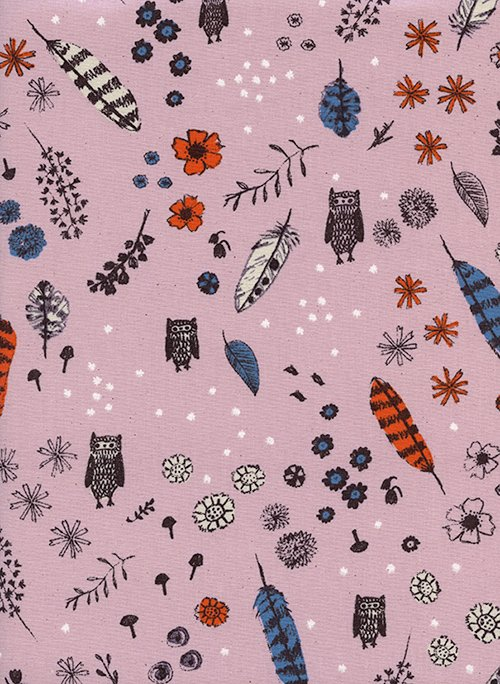 Cotton + Steel - Sarah Watts - Cozy - Dream Owl