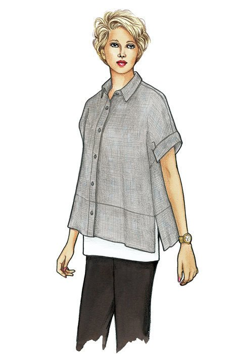 Cottage Shirt Pattern - The Sewing Workshop