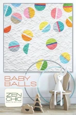 Baby Balls Quilt Pattern - Zen Chic