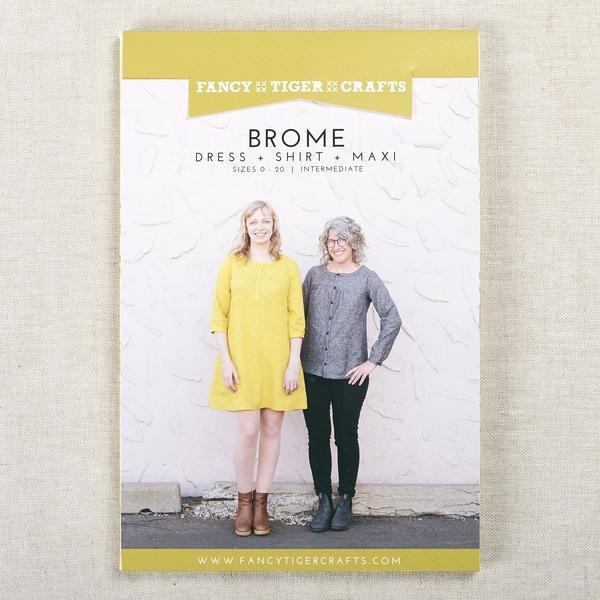 Brome Dress + Shirt + Maxi Pattern - Fancy Tiger Crafts