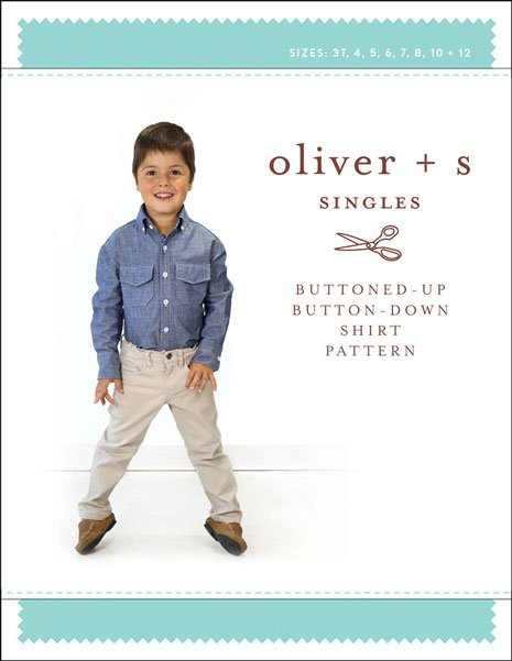 Buttoned-Up Button Down Shirt Pattern - Oliver + S