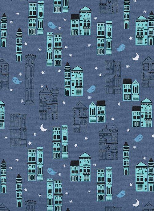 Haunted City - Eclipse - Cotton + Steel