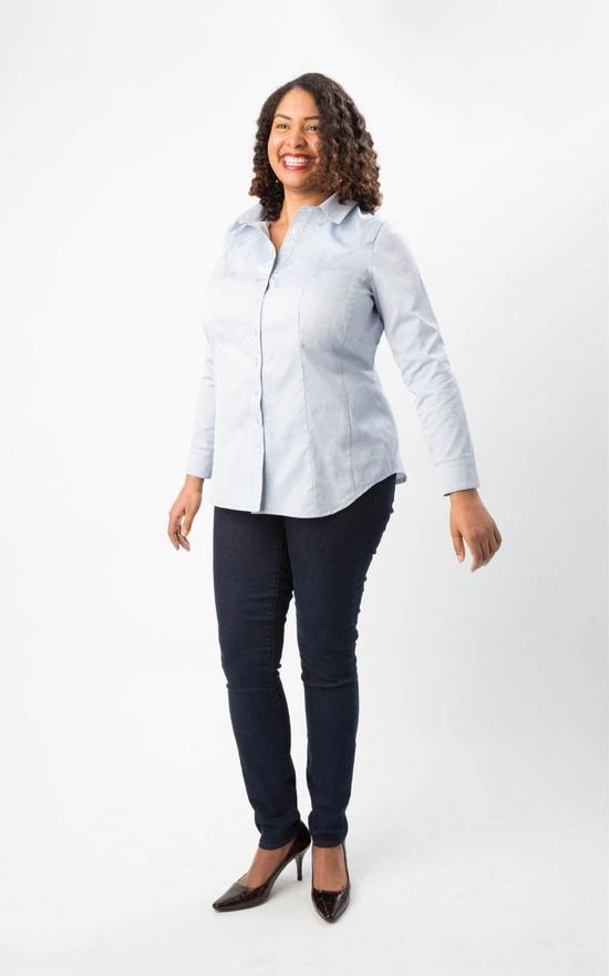 Harrison Shirt Dress - Sizes 12-28 - Cashmerette
