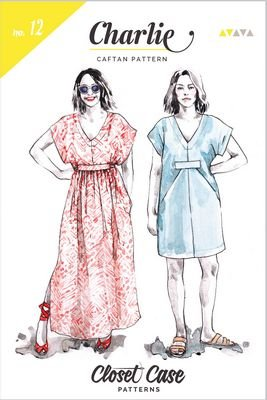 Charlie Caftan Pattern - Closet Case Patterns