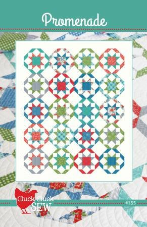 Promenade Quilt Pattern - Cluck Cluck Sew