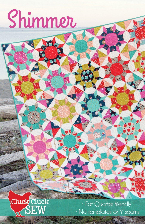 Shimmer Quilt Pattern - Cluck Cluck Sew