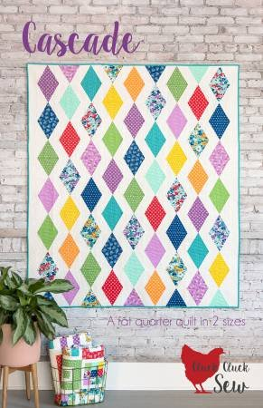 Cascade Quilt Pattern - Cluck Cluck Sew