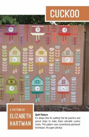 Cuckoo Quilt Pattern - Elizabeth Hartman