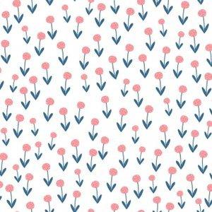 Poppies - White - Frolic - Dear Stella