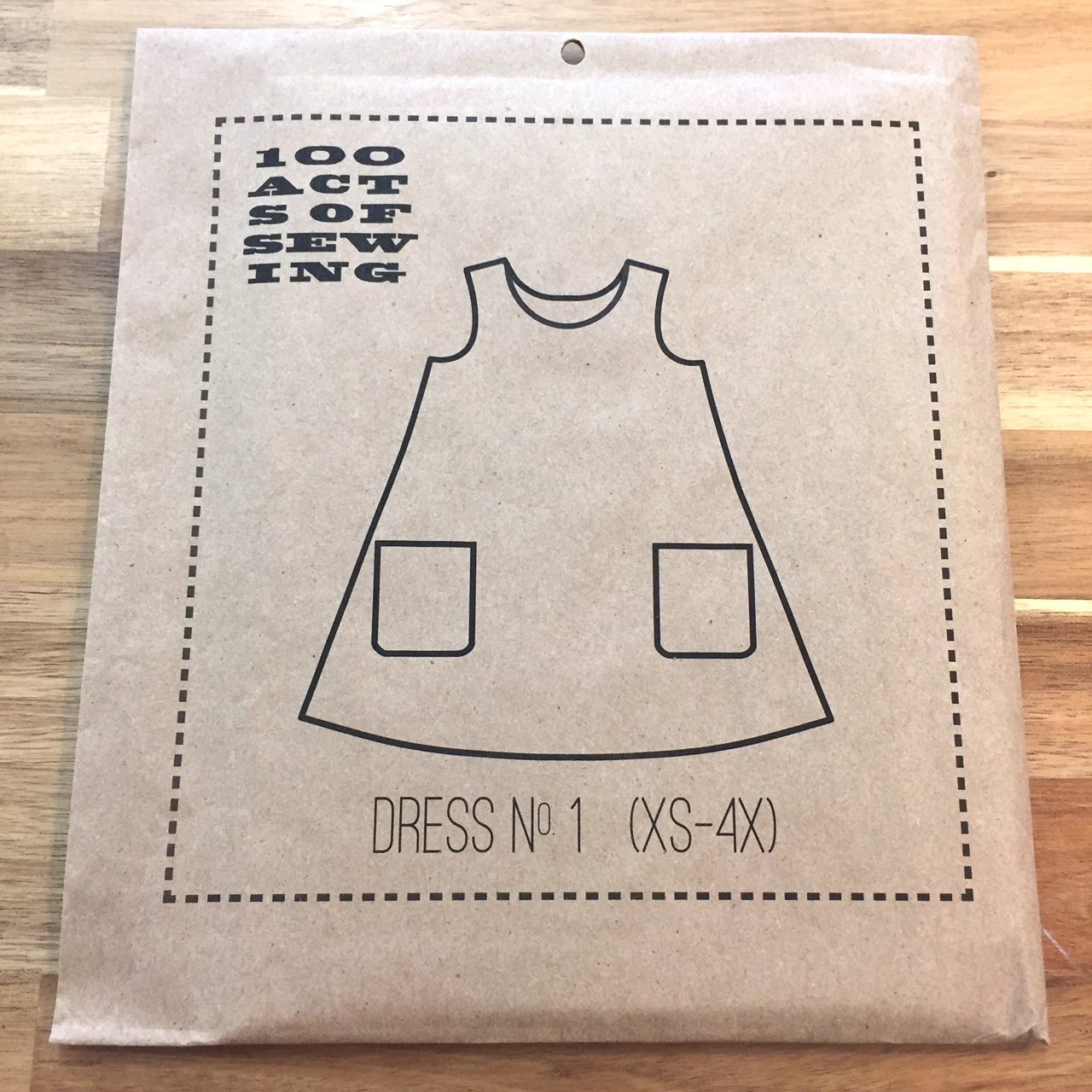 Dress no. 1 (XS-4X) - 100 Acts of Sewing - Sonya Philips