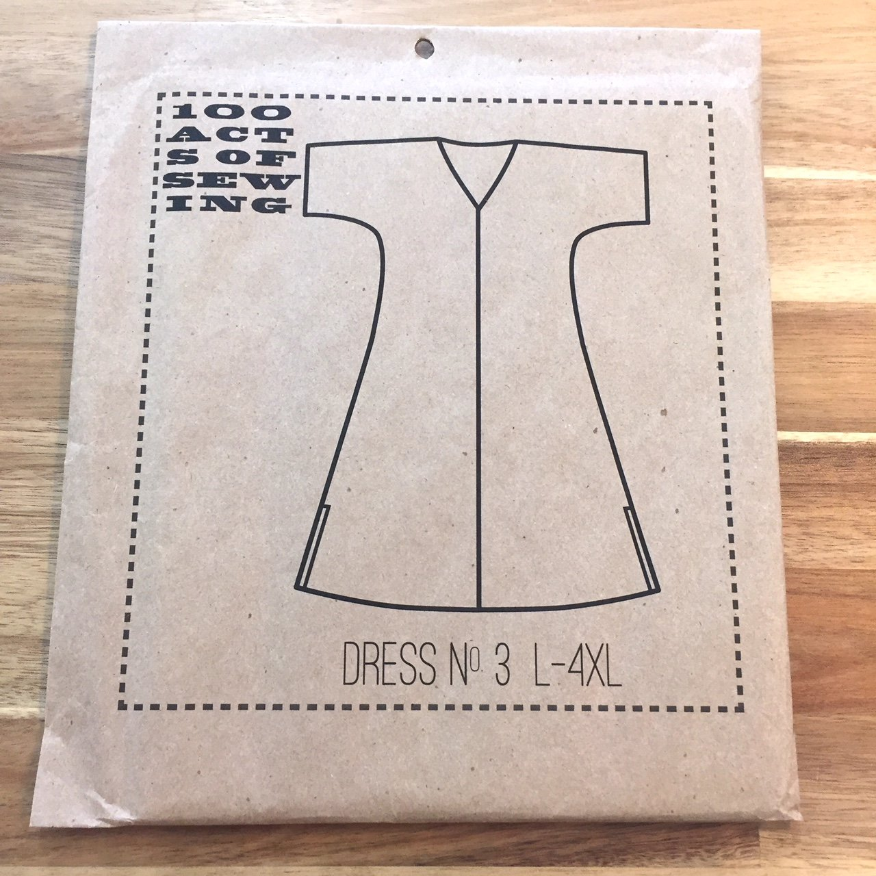 Dress no.3 (L-4X) - 100 Acts of Sewing - Sonya Philip