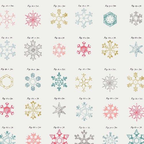 Snow Crystals - Little Town - Amy Sinibaldi - Art Gallery Fabrics