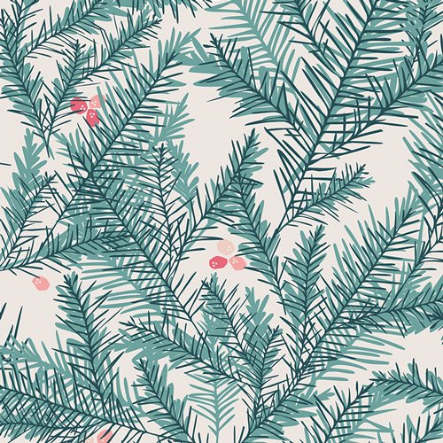 Be Merry - Little Town - Amy Sinibaldi - Art Gallery Fabrics