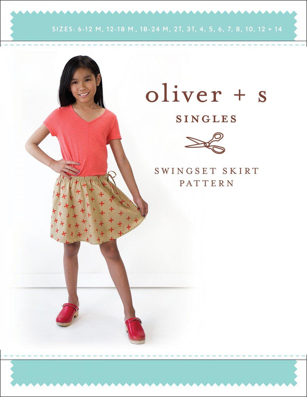 Swingset Skirt Pattern (6M-14Y) - Oliver + S