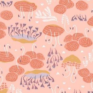 Moss - Salmon - Woodland Nymph - Rae Ritchie - Dear Stella