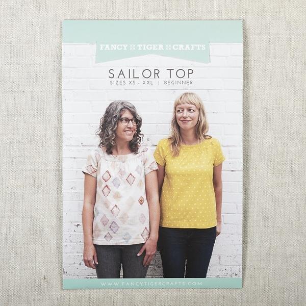 Sailor Top Pattern - Fancy Tiger Crafts