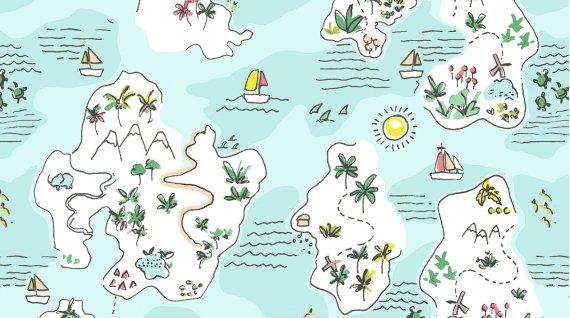 Island Hopping - Multi - Jetsetter - Dear Stella