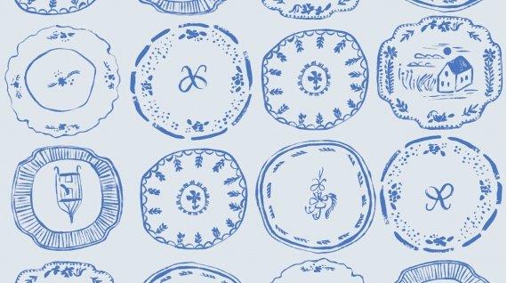 China Plates - Royal Picnic - Dear Stella