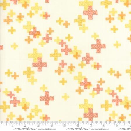 Geometric Pluses - Modern Background Colorbox - Zen Chic - Moda