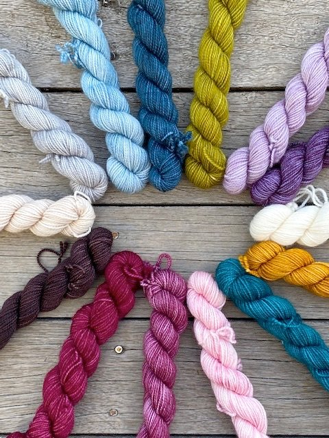 Local Yarn Store Day minis Kits