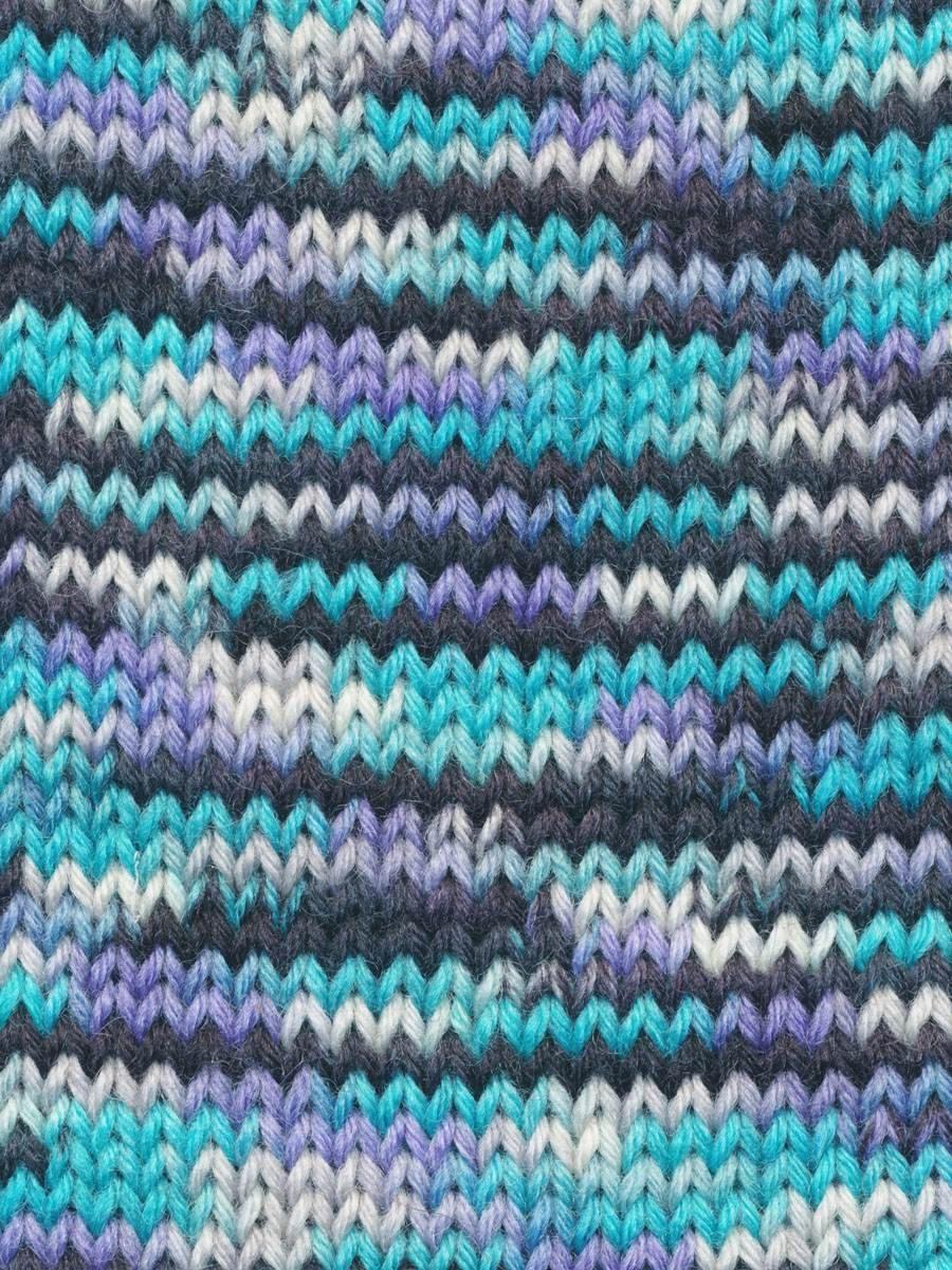 Knitting Fever:  Indulgence Merino Sock:  1003 Pacific Skies
