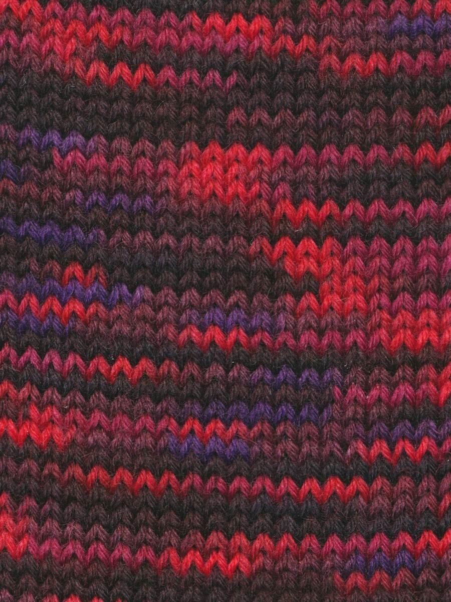 Knitting Fever:  Indulgence Merino Sock:  1007 Cherry Hill