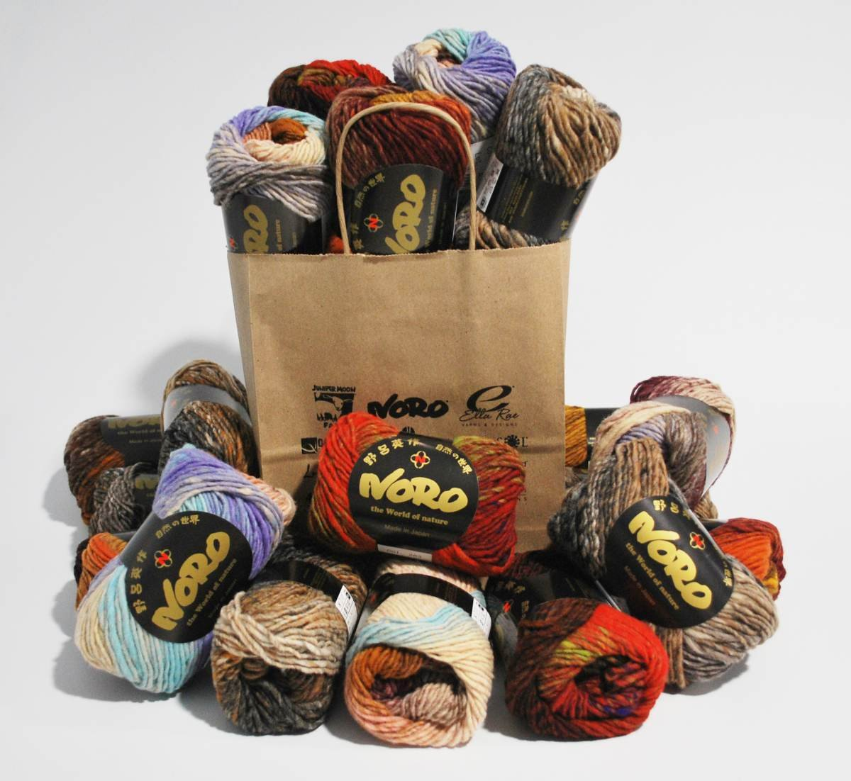 Heart Blanket Kit from Noro