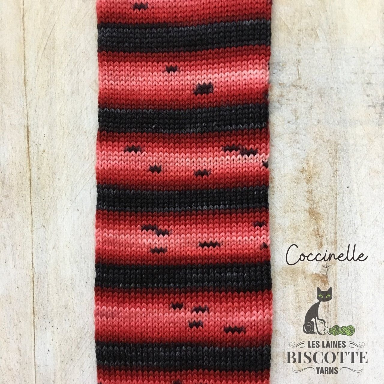 Bis-Sock Ladybug