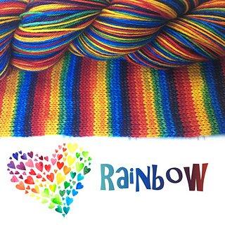 Bis-Sock Rainbow