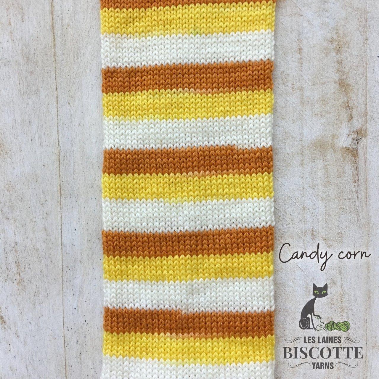 Bis-Sock Candy Corn