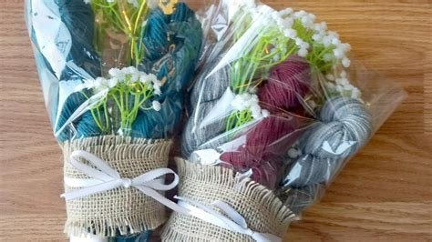 Gift Yarn Bouquet $50