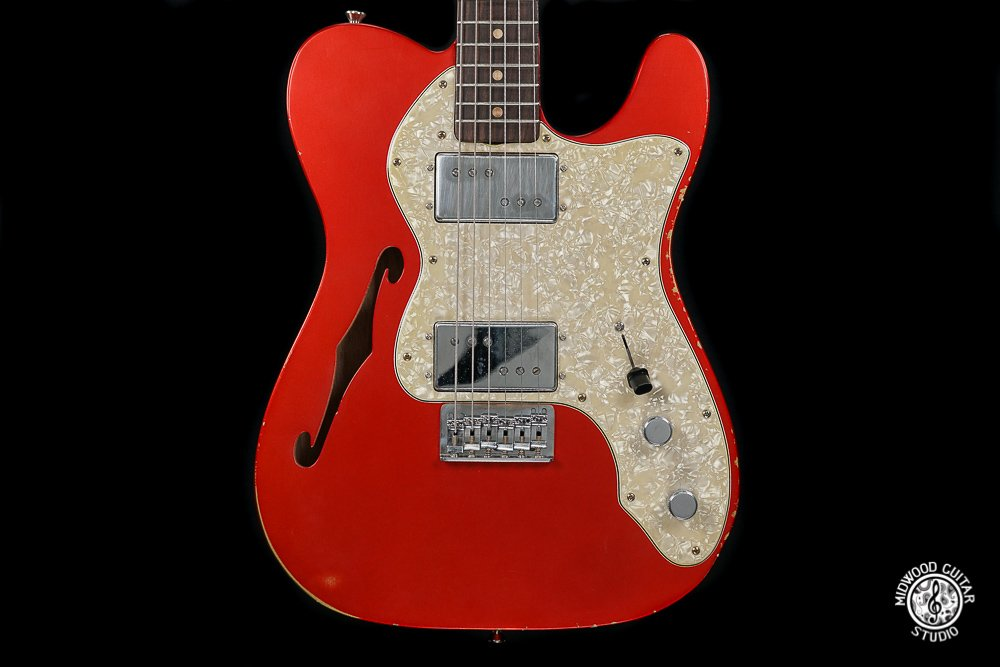 Mario '72 T-Style Hollow - Medium Relic - Candy Apple Red - 2018