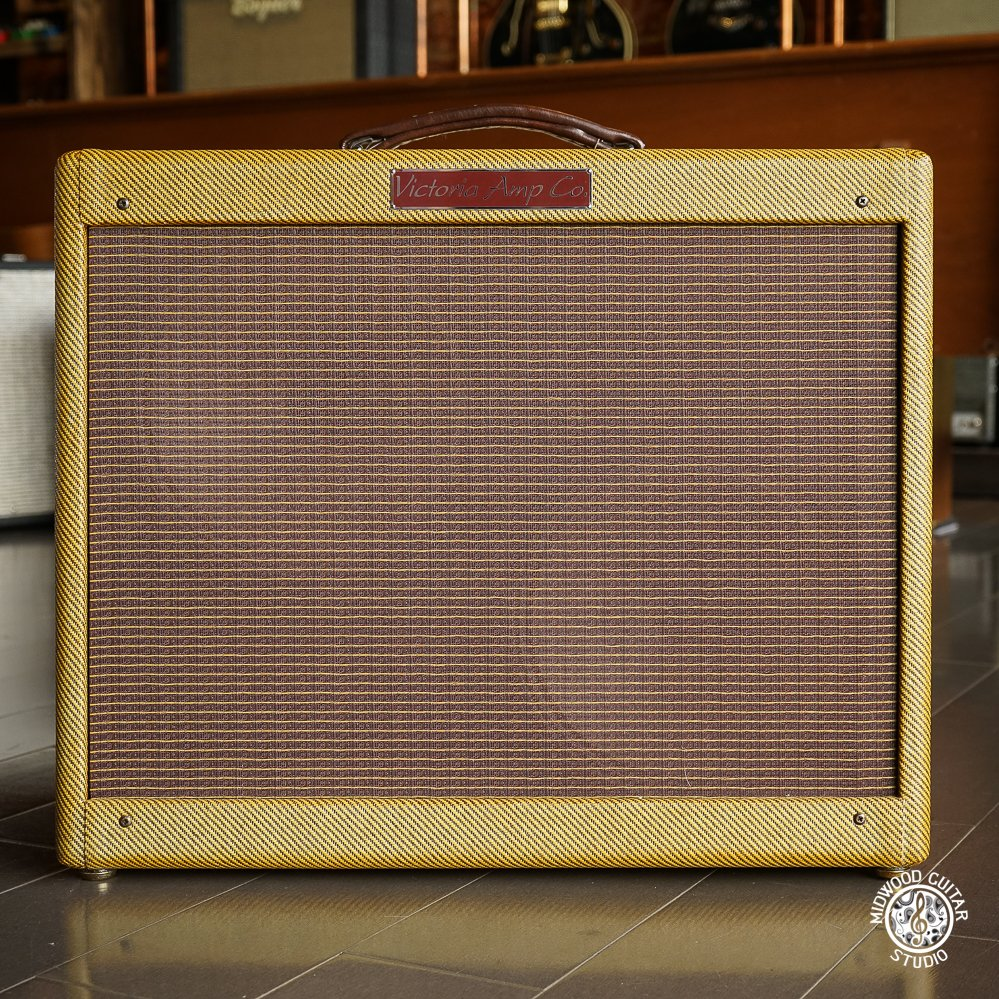 Victoria 35210 Tweed Super 2x10 Combo w/ Reverb - Used