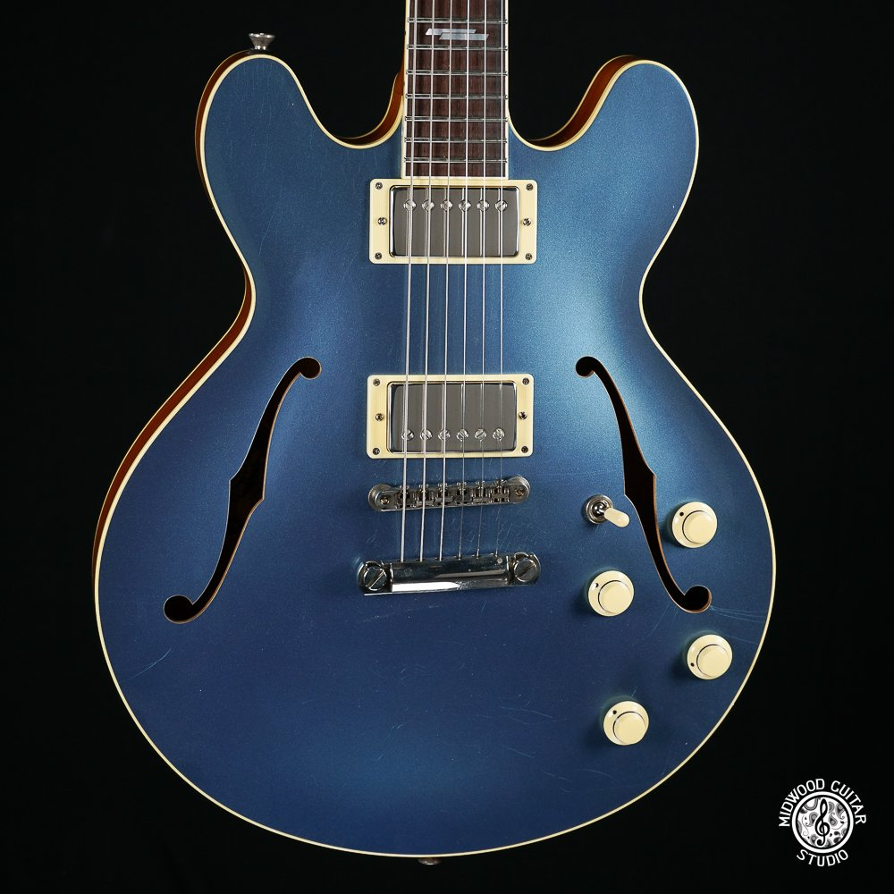 Collings I-35 Dlx Aged Pelham Blue - #181046