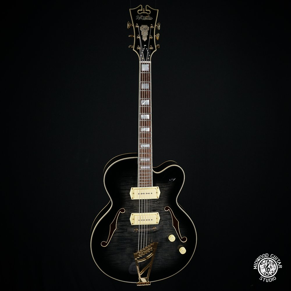 D'Angelico Excel 59 Grey-Black (Demo)