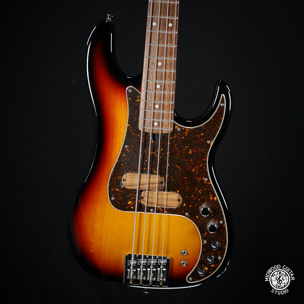 Xotic XP-1T Sunburst 4-String Bass - Store Demo