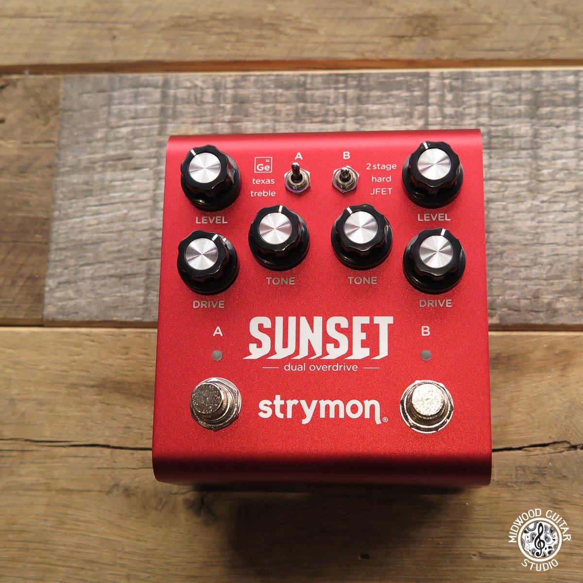 Strymon Sunset Overdrive Pedal