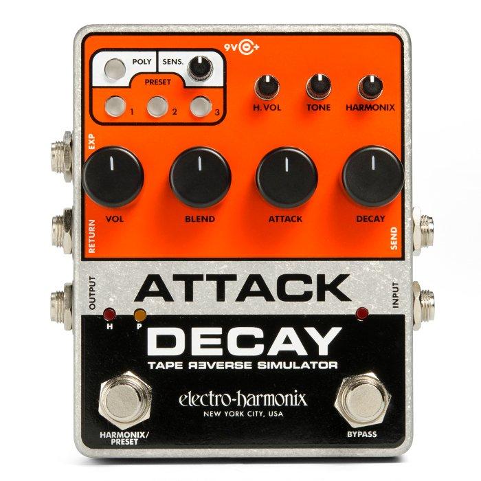 Electro Harmonix Attack Decay Tape Reverse Simulator