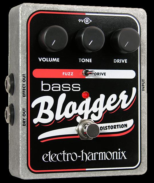 Electro Harmonix Bass Blogger Overdrive/Fuzz