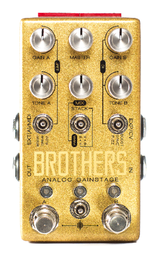 Chase Bliss Brothers Overdrive Distortion Fuzz
