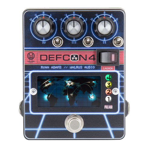 Walrus Audio Defcon4 Ryan Adams Signature EQ/Pre-Amp