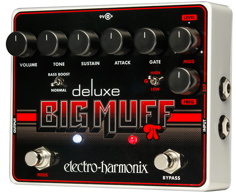 Electro Harmonix Deluxe Big Muff Pi distortion pedal