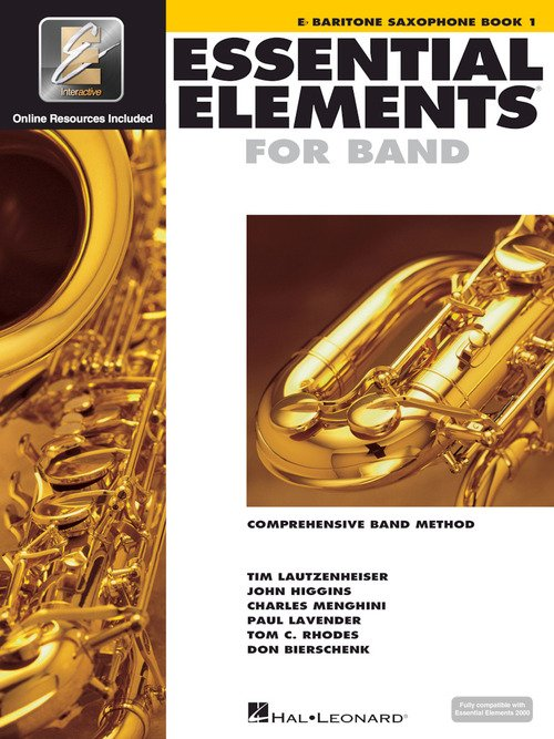 Essential Elements for Band Baritone Saxophone Book 1