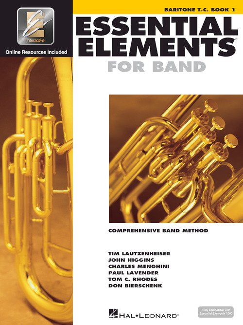Essential Elements for Band Baritone Tenor Clef Book 1