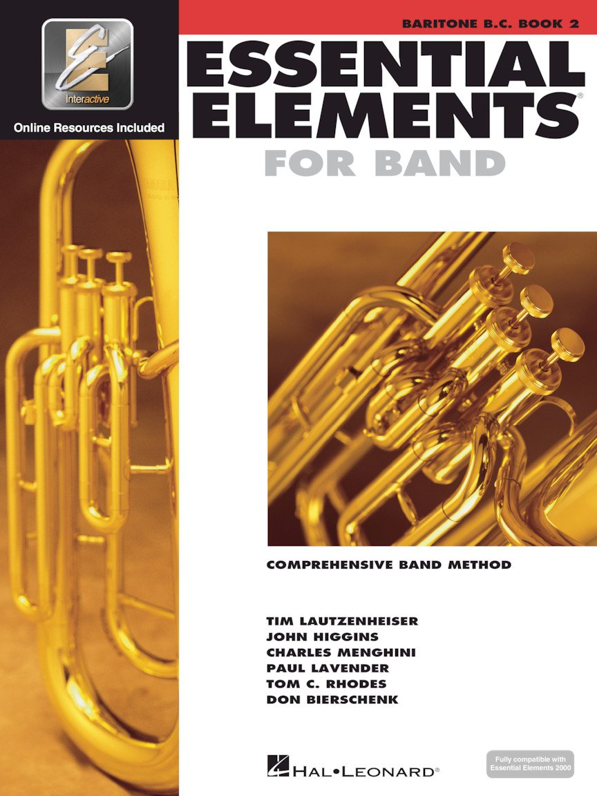 Essential Elements for Band Baritone Bass Clef Book 2