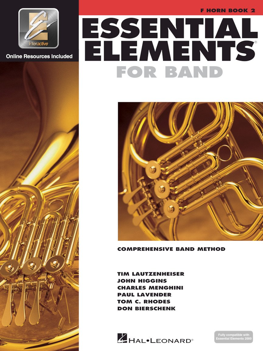 Essential Elements for Band French Horn Book 2