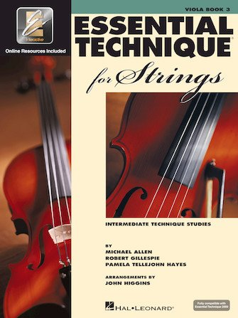 Essential Technique for Strings Viola Book 3
