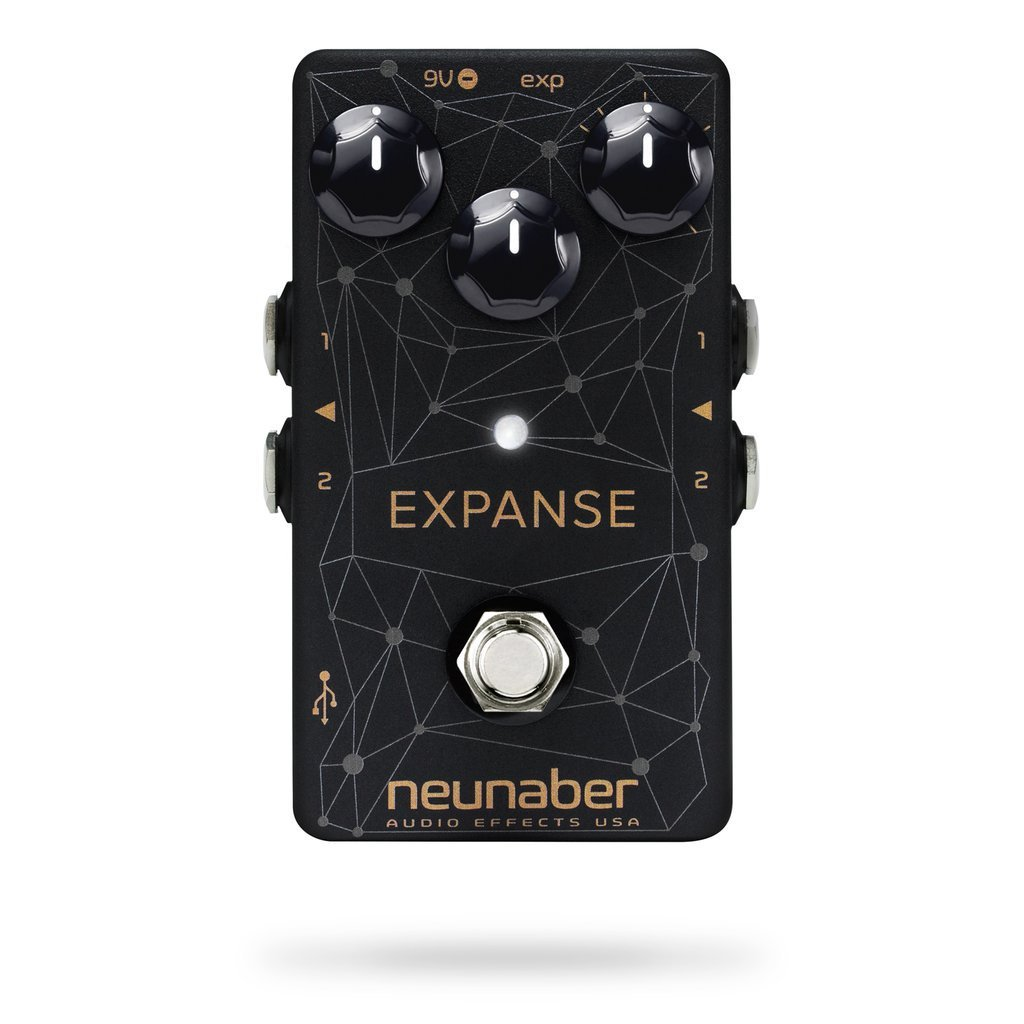Neunaber Expanse Series Multi Effect Pedal - Web Graphic
