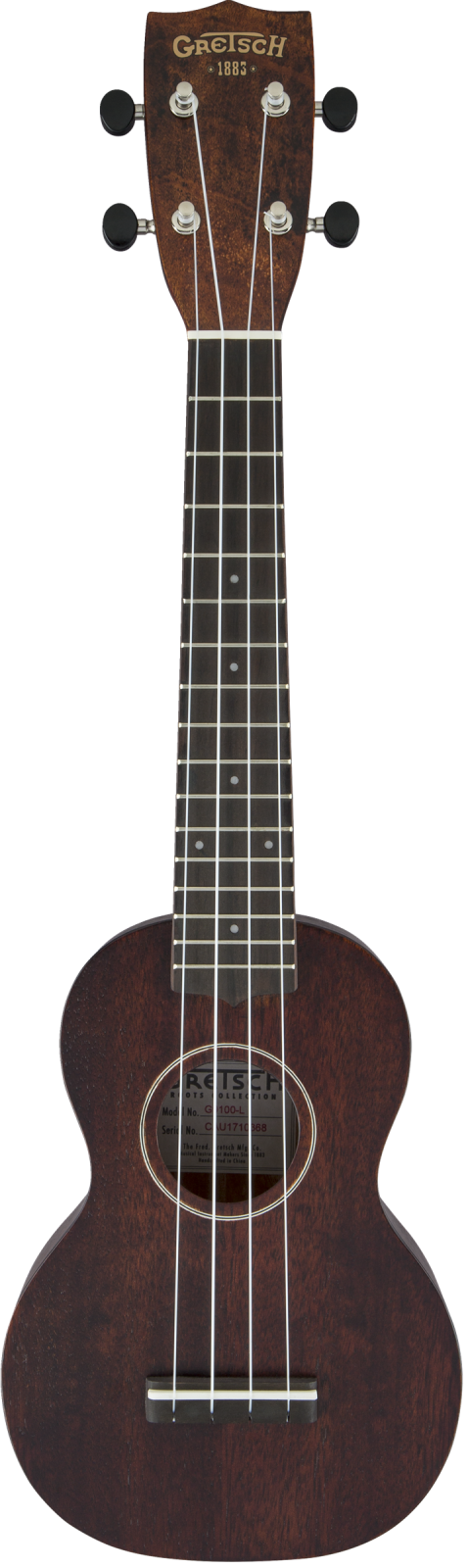 Gretsch G9100-L Soprano Long-Neck Ukulele with Gig Bag