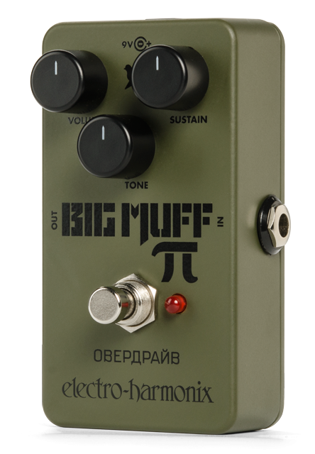 Electro Harmonix Green Russian Big Muff Pi Distortion